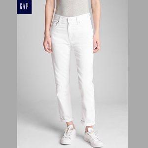 Gap white best girlfriend jeans Size 28